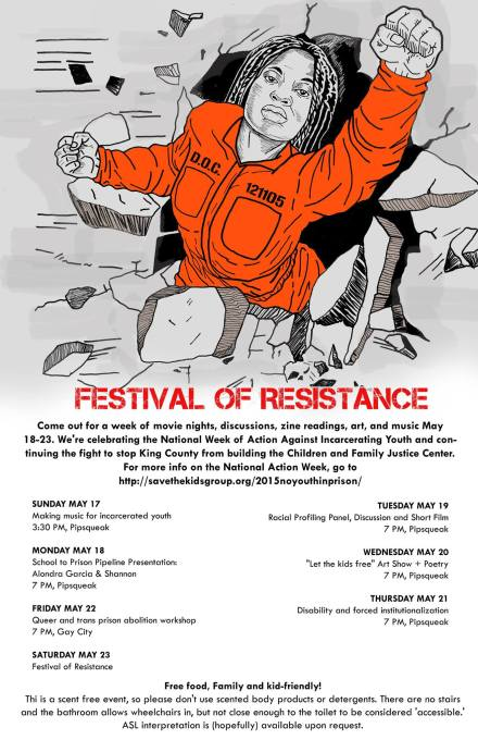 festival of reistance schedule